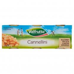LEG/L FAGIOLI CANNELLINI VALFRUTTA LAT.GR.400 TRIS