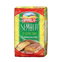 FARINA DIVELLA DI SEMOLA RIMACINATA KG.25