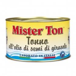 TONNO MISTER TON ALL'OLIO DI GIRASOLE GR.1650