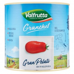 POMODORI PELATI VALFRUTTA GC DEL SALENTO LATT.KG.3