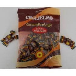 CARAMELLE GUGLIELMO AL CAFFE'SENZA ZUCCHERO GR.100