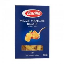 PASTA BARILLA MEZZE MANICHE RIGATE N[84 GR.500