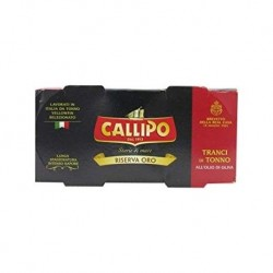 TONNO CALLIPO OLIO/OLIVA 2 PZ DA 160 GR RISERVA OR