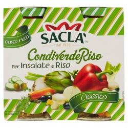 INSALATA CONDIRISO SACLA' VERDE CLASSICA GR.290X2