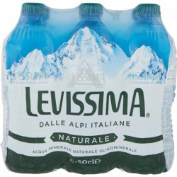 ACQUA LEVISSIMA NATURALE PET ML.500X6X4