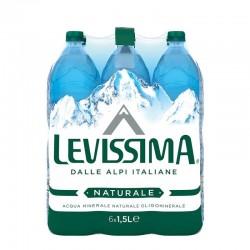 ACQUA LEVISSIMA.NATURALE PET LT.1,5X6