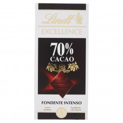 CIOCC.LINDT TAV.EXCELLANCE 70% FONDENTE GR.100