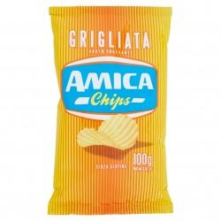 PATATINE AMICA CHIPS GRIGLIATE GR.100 CD1599