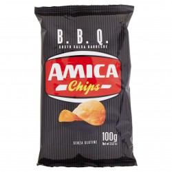 PATATINE AMICA CHIPS BARBECUE GR.100 CD2176