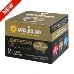 CAPSULE CAFFE C/A MODO MIO GUGLIELMO ORO PZ. 16