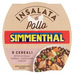 INSALATA SIMMENTHAL POLLO 5 CEREALI GR.160