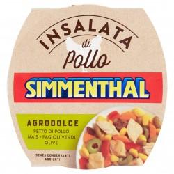 INSALATA SIMMENTHAL POLLO AGRODOLCE GR.160