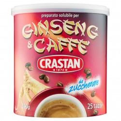 CAFFE AL GINSENG SOLUB. S/ZUCC.CRASTAN BAR.GR.200