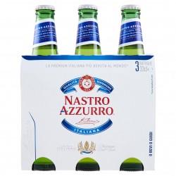 BIRRA NASTRO AZZURRO CL.33 TRIS