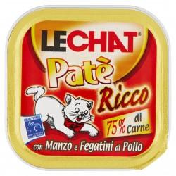 P/GATTO MONGE LECHAT PATE' MANZO/FEG.POLLO GR.100