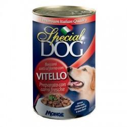 P/CANE MONGE SPECIAL DOG BOCCONI VITELLO GR.400