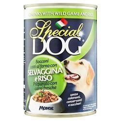 P/CANE MONGE SPECIAL DOG BOCCONI RISO/SELV. GR.400