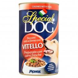 P/CANE MONGE SPECIAL DOG BOCCONI VITELLO GR.1275