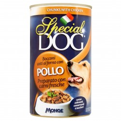 P/CANE MONGE SPECIAL DOG BOCCONI POLLO GR.1275
