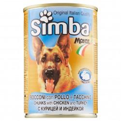 P/CANE MONGE SIMBA BOCCONCINI POLLO/TACCH. GR.415