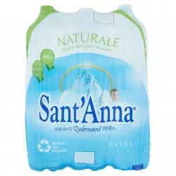 ACQUA SANT'ANNA NATURALE PET LT.1,5X6