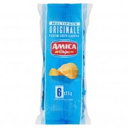 PATATINE AMICA CHIPS LA PATATINA MULTIPACK GR.25X6