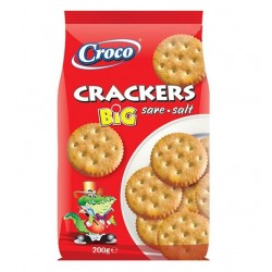 BISC. CRACKERS BIG CROCO GR.200