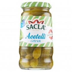 CETRIOLI ACETELLI SACLA' VETRO GR.290