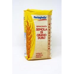 FARINA PERTEGHELLA RIMAC. SEMOLA G/DURO KG.1