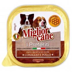 P/CANE MORANDO MC PREF. PATE CONIGLIO/POLLO GR.300