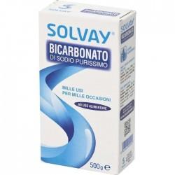BICARBONATO DI SODIO SOLVAY GR.500