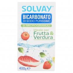 BICARBONATO DI SODIO MICROGR.FRUTTA SOLVAY GR.400