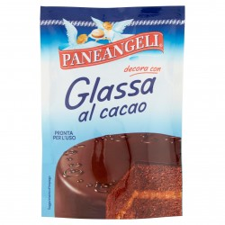 DECOR.TORTA GLASSA CACAO PANEANGELI CAMEO GR.125