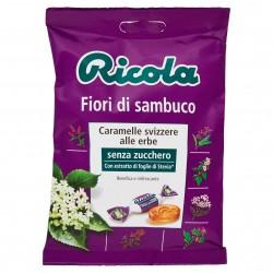 CARAMELLE RICOLA S/Z BUSTA FIORI DI SAMBUCO GR.70