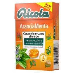 CARAMELLE RICOLA S/Z AST. ARANCIA MENTA GR.50