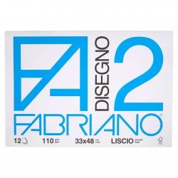 CANCELLERIA BLOCCO DISEGNO F2 33X48 LISCIO FABRIAN