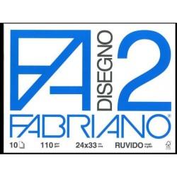 CANCELLERIA ALBUM DISEGNO RUVIDO F2 24X33 F.10