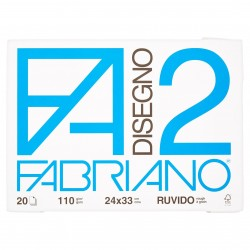 CANCELLERIA BLOCCO DISEGNO F2 24X33 F.20 RUVIDO F