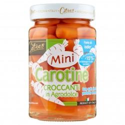CAROTINE MINI AGRODOLCE C/IODIO VASO CITRES GR.290