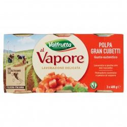POLPA GRAN CUBETTI VALFRUTTA LATT.GR.400 TRIS