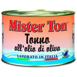 TONNO MISTER TON ALL'OLIO DI OLIVA GR.1650
