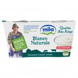 YOGURT MILA GR.125X2 INTERO BIANCO NATURALE *
