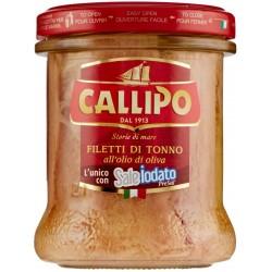 TONNO DI FILETTI CALLIPO OLIO/OLIVA VASO GR.200