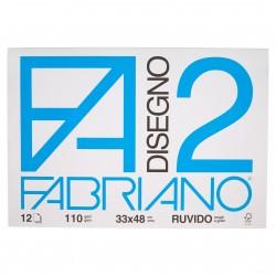 CANCELLERIA BLOCCO DISEGNO F2 33X48 RUVIDO FABRIAN