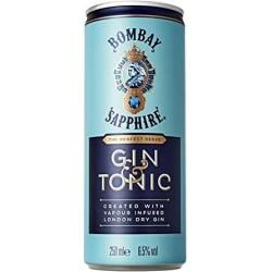 LIQUORE COCKTAIL BOMBAY GIN & TONIC LATTINA CL.25