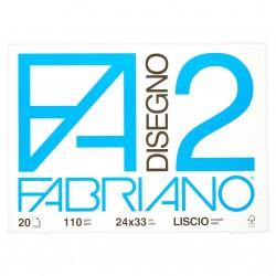 CANCELLERIA BLOCCO DISEGNO F2 24X33 F.20 LISCIO F
