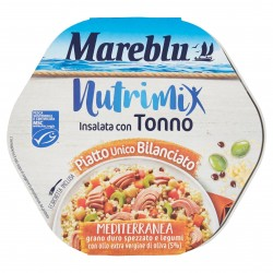 TONNO MARE BLU INSALATA NUTRIMIX MEDITERRANEA G220