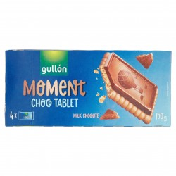 BISC.GULLON CHOCO TABLET CIOCCOL.LATTE GR.150