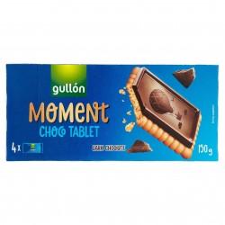 BISC.GULLON CHOCO TABLET CIOCCOL.FOND. GR.150