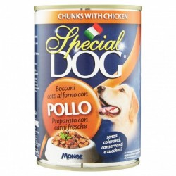 P/CANE MONGE SPECIAL DOG BOCCONI POLLO GR.400